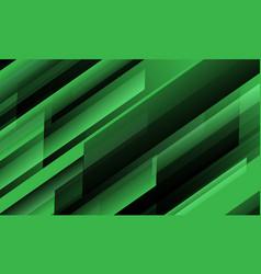 abstract green black speed geometric slash vector image