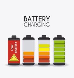 Battery design vector