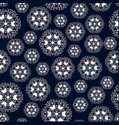 beautiful vintage circular pattern of indian vector image