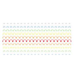 Headphones shape halftone spectral grid vector
