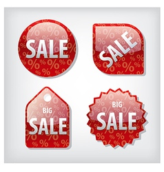 Sale tags vector