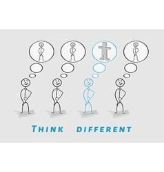 Think different 2D vs 3D vector