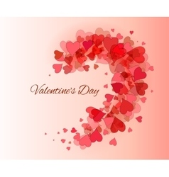 Valentine Day beautiful background vector