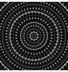 Mandala Indian decorative pattern vector image vector image