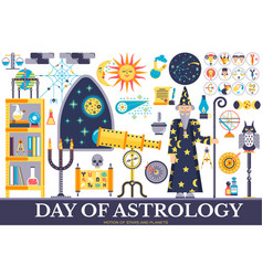 Astrology house icons design set vector