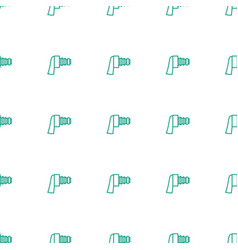 camera zoom icon pattern seamless white background vector image