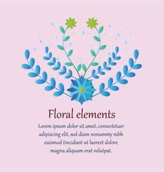 Elegant premade logo feminine branding template vector