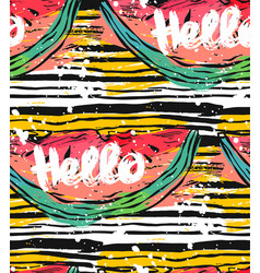 hand drawn striped abstract textured vector image