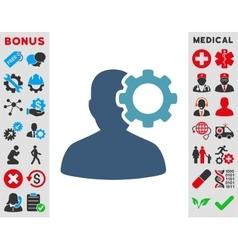 Migraine Icon vector image