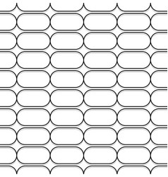 Repeatable pattern with rectangular square shapes vector