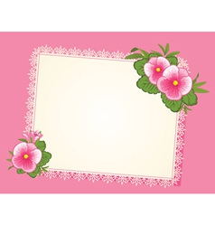 Scrapbooking background vector image vector image