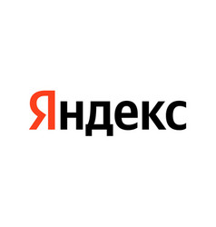 yandex logo sign isolated vector image