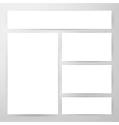Brand Identity Flyers Mockup vector image vector image