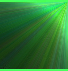 Green ray burst background design - graphic from vector