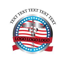 AMERICAN-LOGO vector image