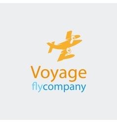 Travel logo icon vector image