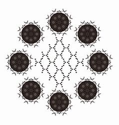Abstract arab arabic art background beautiful vector