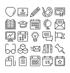 Education Icons 2 vector