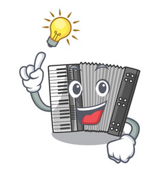 have an idea accordion isolated with in the vector image