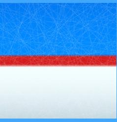 hockey rink surface vector image