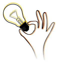 Idea symbol vector