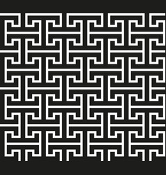original meander modern pattern vector image