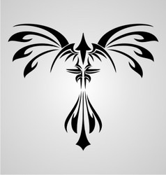 Phoenix Bird Tribal vector
