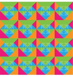Squares seamless colorful background design vector
