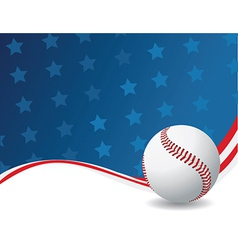 American sports background vector image vector image