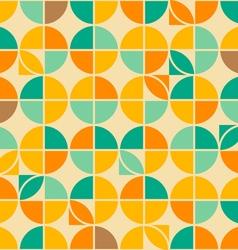 crossed circles pattern vector image
