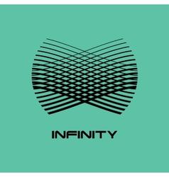 Logo design template Infinite shape vector image vector image