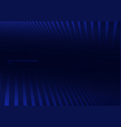 Abstract blue halftone on dark background vector
