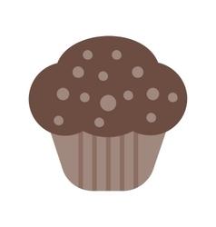 Chocolate Cupcake vector