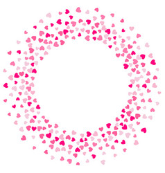 cute little hearts background different size and vector image