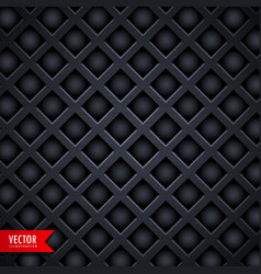 dark diamond shape texture background vector image