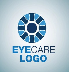 EYE CARE LOGO 9 vector image