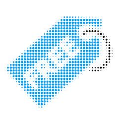 Free tag halftone icon vector