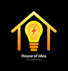 House idea vector