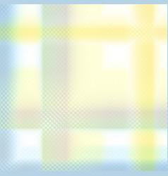 Yellow blue pastel geometric background vector