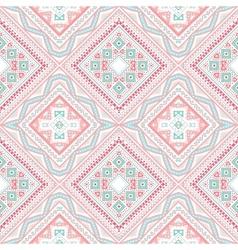 Tribal ethnic corner pattern vector image vector image
