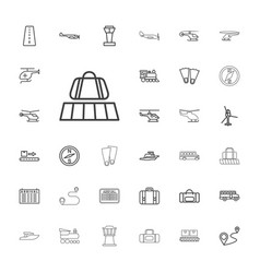 33 trip icons vector