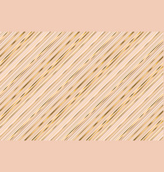 abstract beige and gold stripes seamless pattern vector image