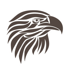 Abstract eagle vector