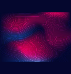 Abstract topographic vibrant gradient color vector
