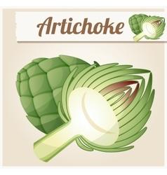 Artichoke Detailed Icon vector