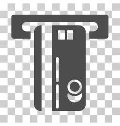 Atm machine icon vector