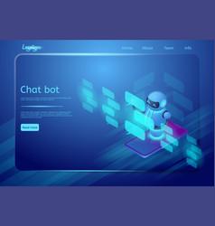 Chat bot vector