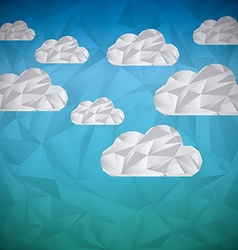 Clouds abstract vector