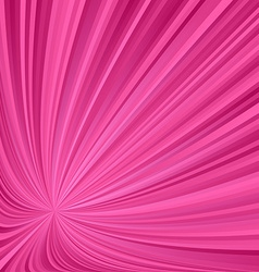 Dark pink striped ray background vector