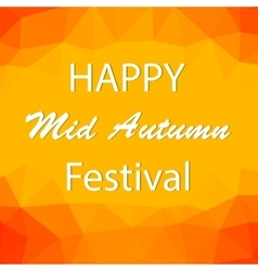 Happy Mid Autumn Backgound vector